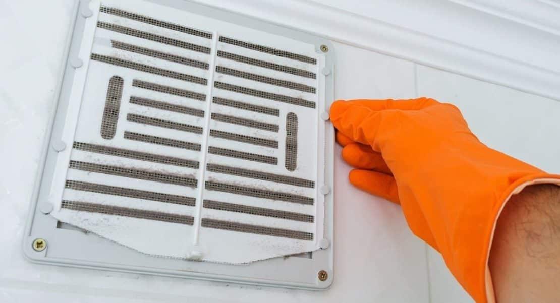 Nettoyage de conduits de ventilation